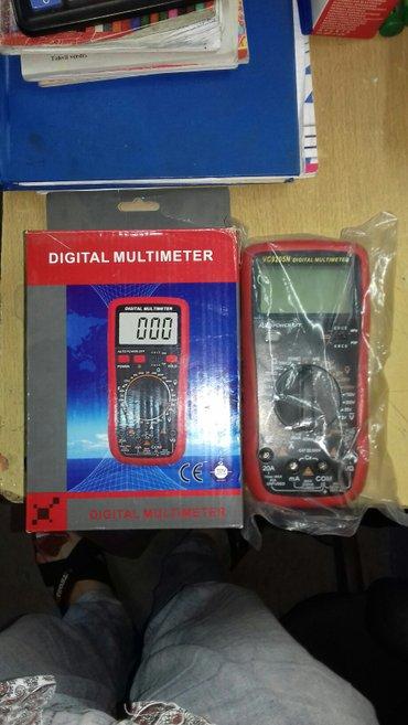 tester - Azərbaycan: Tester VC9205 digital multimeter