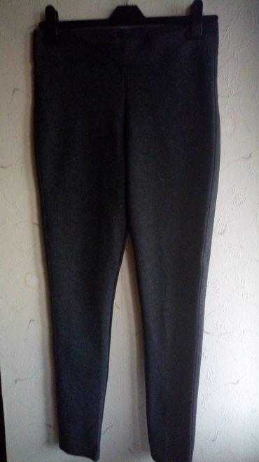 Zimske helanke pantalonemoderna zelena boja esirina - Srbija: Helanke nove zimske,obim struka 80,duz. 97cm.grao
