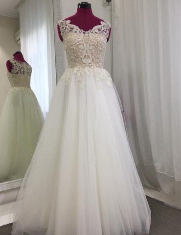 Свадебные платья и аксессуары - Кыргызстан: Продаю (сдаю) свадебное платье от Браволаб. Одевалось один раз на свою