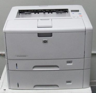 Широкоформатные скоростные сетевые принтеры HP 5200tn с большой