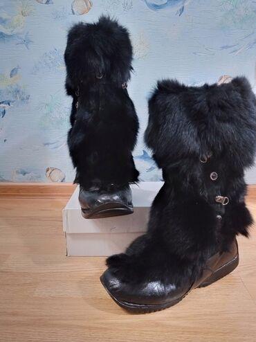 теплые унты в Кыргызстан: - Продаю женские очень тёплые унты из сибирской собачьей шерсти бренда