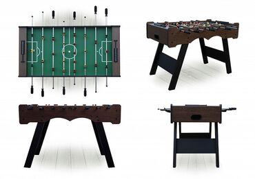Настольный футбол «Stuttgart» это стол среднего размера с лаконичным