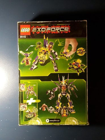 texnikalı konstruktorlar - Azərbaycan: Lego Exo Force konstruktoru, qiymet sonudur. Elaqe - whatsaap