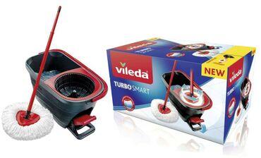 Другие товары для дома в Ак-Джол: Vileda немецкий. Швабра с ведром. С отжимом . Новый Turbo smart
