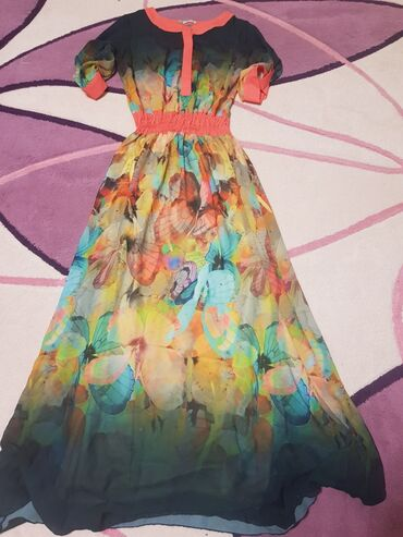 Женская одежда - Кок-Джар: Продаю платье Турецкое .одевала 1 раз .продаю так как стал мне большим