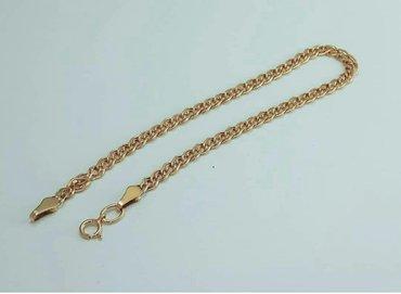 Продается новый браслет из  красного золота 585 пробы, 2.3 грамма. в Бишкек