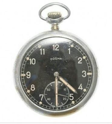 Редкие! Карманные Часы Dogma. Швейцарские Часы ВОВ.Солдата
