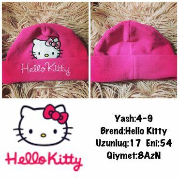 Yash:4-9 Brend:Hello Kitty Uzunluq:17 Eni:54 Qiymet:8AzN