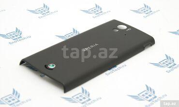 Xperia z5 - Azərbaycan: Задняя крышка для Sony Ericsson Xperia Ray St18i черного цвета.Новая