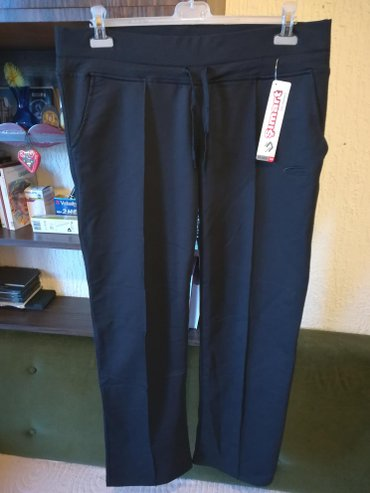 Crne pantalone sa dzepovima - Srbija: Nove zenske pantalone za punije simart. Turske. Odlicne zenske