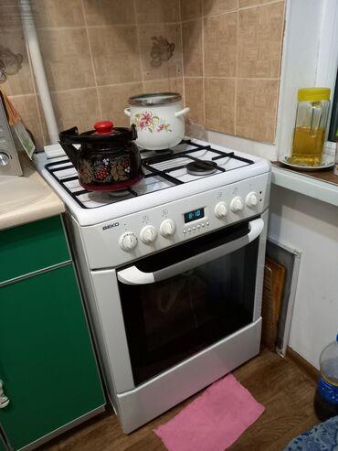 Продается : Газовая плита Веко, электрическая духовка, плита на 60