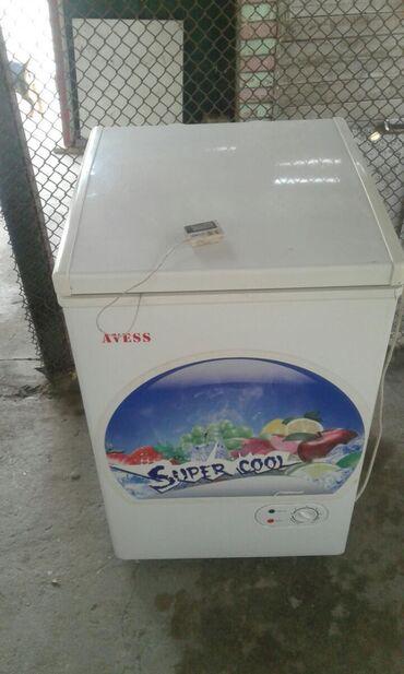 Холодильники - Кыргызстан: Б/у Двухкамерный Серебристый холодильник LG
