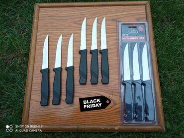 Skafander 6 - Pozarevac: Set od 6 Noževa- Crni Petak   Set od 6 oštrih nozeva. AKCIJSKA CENA@@!