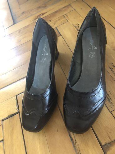 Ženska obuća | Kula: Zenske kozne cipele, br 41, kao nove!