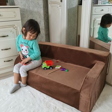 Детские без каркасные диванчики для детей. Размер 90/46/20см Чехол съ