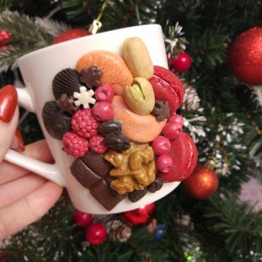 сладкие новогодние подарки в Кыргызстан: Оригинальные подарки на любой праздник!!! вкусные кружки и ложки!!