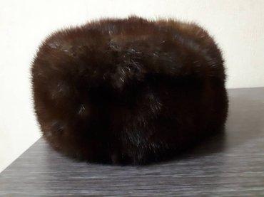 Продаю б/у норкувую шапку, в отличном состоянии. в Бишкек