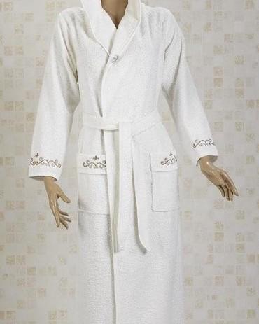 турецкий домашний халат в Кыргызстан: Женский турецкий банный халат, новый, размер М