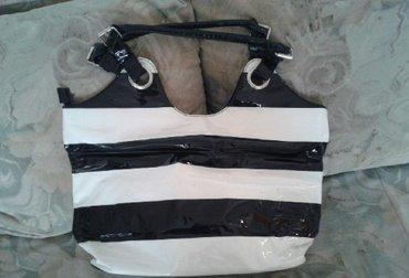 Nova torba lakovana velika, moze za plazu ili grad.. - Sjenica