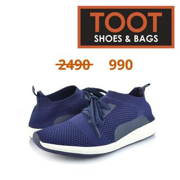 43-размер в Кыргызстан: TOOT SHOES&BAGS Кроссовки Артикул: 084-JL899-1 Детали Цвет Синий