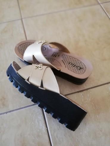 Papuče platforma, nude boje, nove, iz Turske. Br. 36,duzina - Jagodina