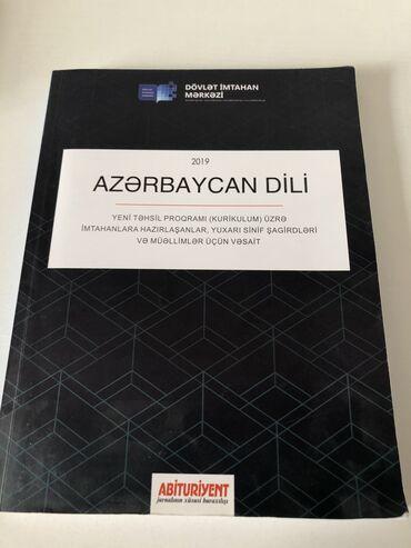 Azərbaycan Dili Abiturientlər və Müəllimlər üçün vəsait Test Bankı içi