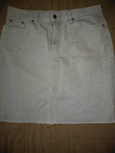 100с Джинсовая мини юбка хаки р 46/48 отл в Бишкек