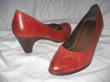 Tamaris kožne cipeleBroj 40, unutrašnje gazište 26cm od ivice do