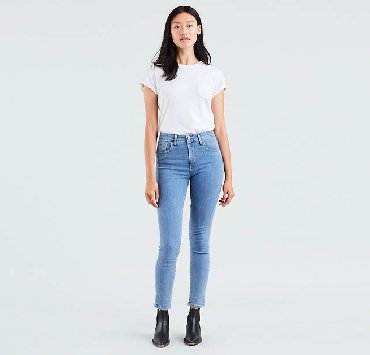джинсы размер xs в Кыргызстан: Женские джинсы LeviS XS