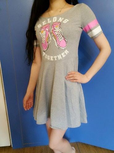Модное спортив. платье, материал отличный, новое, размер S, 42. в Бишкек