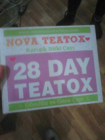 - Azərbaycan: Nova 28 gün teatox, həzmi intensiv şəkildə yaxşılaşdıran bitki