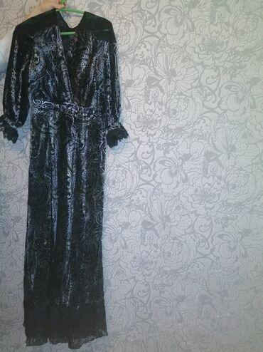 гипюр платье в Кыргызстан: Красивая вечерняя платья. Размер 42. Плечо гипюр. Ремень имеется. Тел