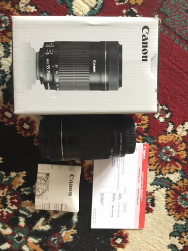 Canon EFS 55-250mm IS STM в Бишкек