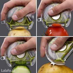 Bakı şəhərində Salat soyan aparat
