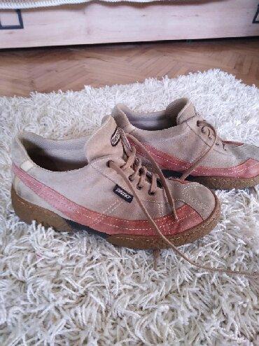 Ženska obuća | Zabalj: Kožne cipele Next, prevrnuta koža, kupljene u Ciciban radnji. Broj je