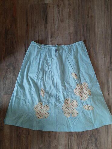 OILILY preslatka suknja. Vel 38/M.  Nebo plave boje sa dekoracijom