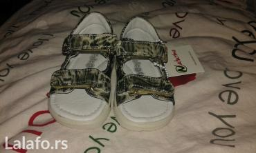 Dečija odeća i obuća - Knjazevac: Nove sandalice sa etiketom. Naturino br 20
