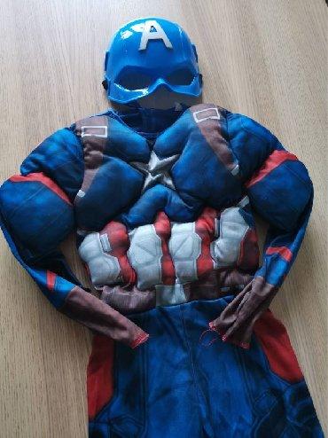 Kostim-kupaci - Srbija: Kostim Captain America za dečake 5-7 godinaKostim Captain America za