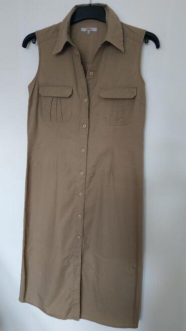 Ženska odeća   Nis: S. Oliver haljina, 100% pamuk, bez ikakvih oštećenja. Veličina 38/40