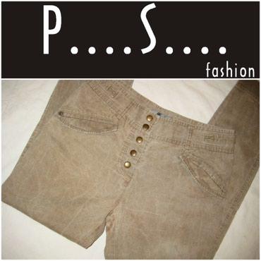 *** PS fashion *** pantalone boje peska - Beograd
