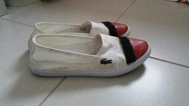 Ženska patike i atletske cipele | Mladenovac: Original Lacoste espadrile