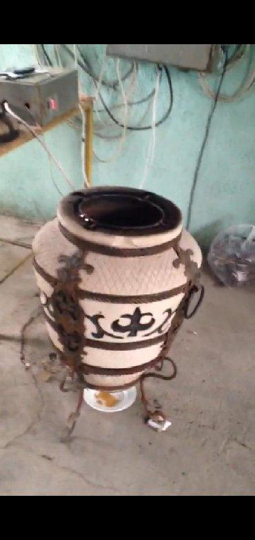 чугунный тандыр в Кыргызстан: Тандыр для шашлыка и гриля электрический .  Работает без дров обсл
