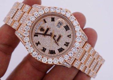 Unused Rolex Day Date II 2 President Rose Gold 33 Carat Diamonds Iced σε Γλυφάδα
