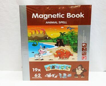 Танграм - чудесная магнитная мозаика из животных для детей!!⠀Размер в