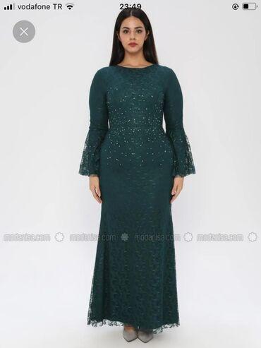 Платье вечернее шикарное турецкое на 50 размер. Материал нежное