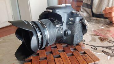 Canon 77d  Fotoaparat əla vəziyyətdədir, şəxsi istifadə üçün alınıb he