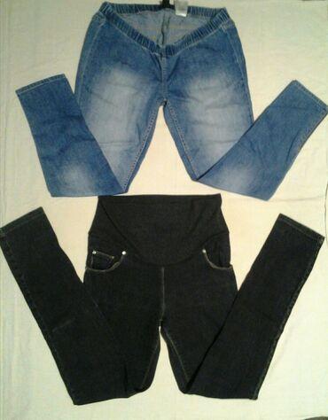 Haljinaz nemacke - Srbija: SNIŽENOOO! ! !  H&M mama, trudnicke pantalone vel. L na njima