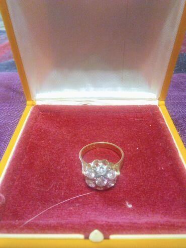 Продается золотое кольцо с бриллиантами советское производство, 583