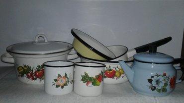 Эмалированная посуда. кастрюля в Бишкек