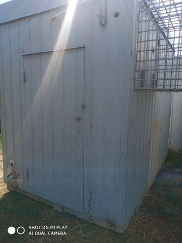 Гаражи - Кыргызстан: Продаю будку по кг22сом павильон бронированный склад гараж